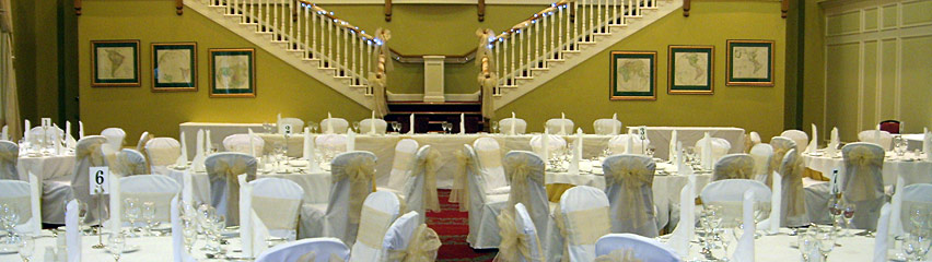 Gisborough Hall - champagne bows