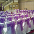 Gisborough Hall - violet bows