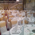 Gisborough Hall - antique gold bows