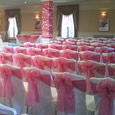 Judges Hotel - rose pink bows