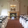 Crathorne Hall - black bows